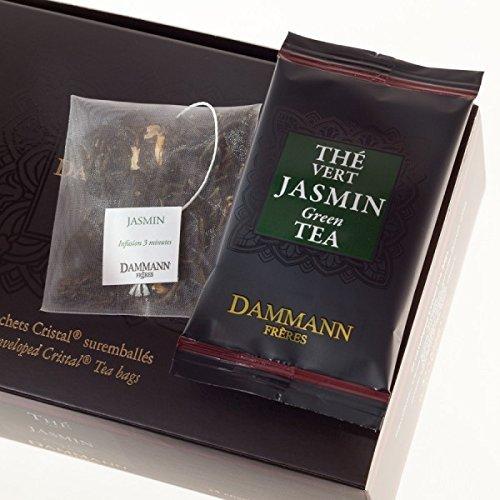 Dammann Frères - Thé Vert Jasmin - 24 sachets individuels