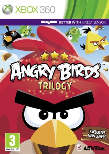 Angry Birds Trilogy (Xbox 360) [UK IMPORT] (360 Angry Birds Xbox)