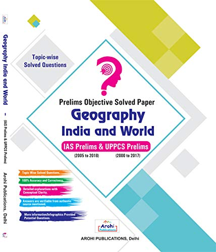 Geography (India and World) Prelims Solved (Objective)