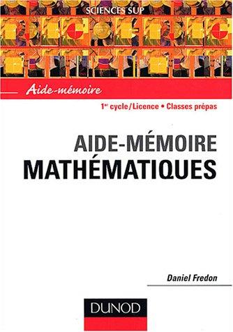 Mathématiques par Daniel Fredon