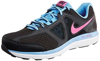 Nike Women's Dual Fusion Lite 2 Msl Black, Hyper Pink, University Blue and White Running Shoes - Girls (Women 3 UK)