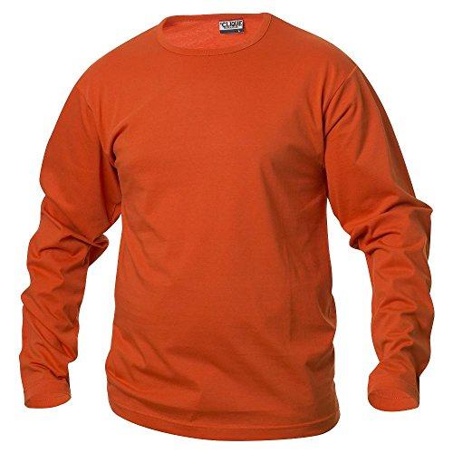 Clique - Langarm T-Shirt 'Fashion-T LS' blutorange (18)