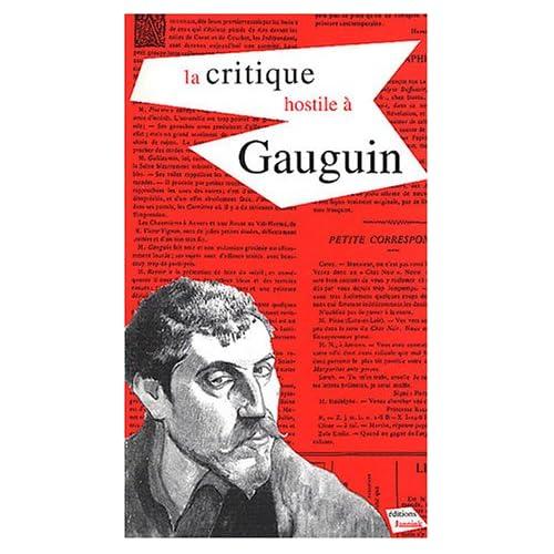 La critique hostile à Gauguin