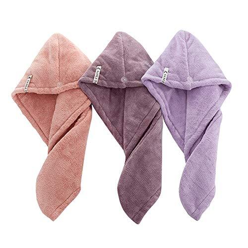 Jeephuer Hair-Drying Cap Frauen Magic Fast Hair Trocknen Handtuch Kopf Wrap Absorbent Makeup...