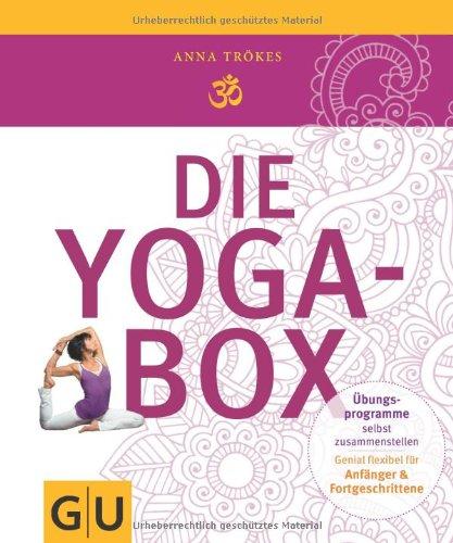 Buchseite und Rezensionen zu 'Die Yogabox (GU Buch plus Körper & Seele)' von Anna Trökes