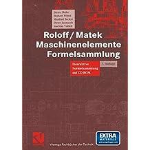 Maschinenelemente Formelsammlung. Interaktive Formelsammlung auf CD-ROM.