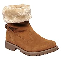 Regatta Womens/Ladies Bedford Casual Suede Boots (3 UK) (Saddle Brown)