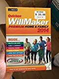 Quicken WillMaker Premium 2014 Home & Family - with...