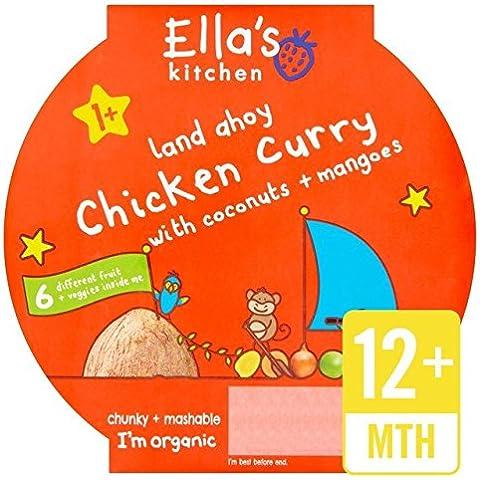 Ella S Kitchen Little Big Meal Chicken Curry Stage 4200g
