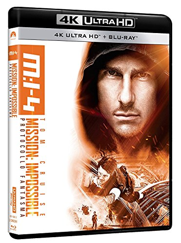Mission: Impossible - Protocollo Fantasma (4K Ultra HD + Blu-Ray)