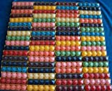 120 Votivkerzen Timtina ca 8-10 Düfte durchgefärbt viele Farben (120) - 3