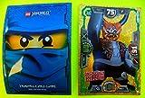 Lego Ninjago Serie 3 Limitierte Karte LE 18 Oni Masken Killow mit Ninja Schutzhülle