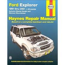 Ford Explorer: 1991 Thru 2001: 1991 to 2001 (Haynes Automotive Repair Manual Series)