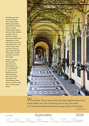 Mit Gott durch das Jahr - Kalender 2018 - Harenberg-Verlag - Wochenkalendarium - 54 Blatt mit Zitaten- Wandkalender - 25 cm x 35,5 cm - 6