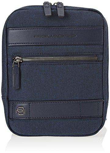 Piquadro Ca4140w84, Borsa Messenger Uomo, 3.5 x 21 x 17 cm (W x H x L) Blu
