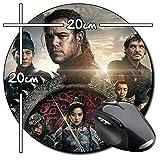 The Great Wall Matt Damon Tapis De Souris Ronde Round Mousepad PC
