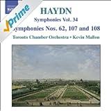 Haydn, J.: Symphonies, Vol. 34 (Nos. 62, 107, 108 / La Vera Costanza: Overture / Lo Speziale: Overture) (Mallon)