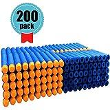 Darts Pfeile für Nerf Zubehör - 7,2 cm Blau Foam Pfeile Zubehör für Nerf N-Strike Elite Series Blasters Spielzeugpis