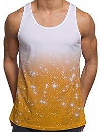 BNWT Men/'s Silk Vest Tank Top!!