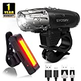 Best Bicycle Lights Rechargeables - SUPERSTA USB Rechargeable Bike Light Set 400 High Review