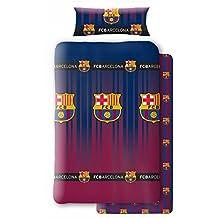 Atmosfera Home Juego Sabanas F.C Barcelona (Cama 90cm) Incluye Funda de  Almohada 7e095b5291c