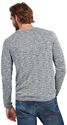 Tom Tailor für Männer knit schlichter Pullover mit Brusttasche Black