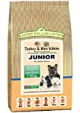 James Wellbeloved Dog Food Junior Turkey and Rice Kibble 7.5kg