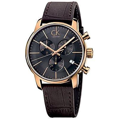 Calvin Klein K2G276G3 - Reloj de pulsera Hombre, Cuero, color Marrón de Calvin Klein