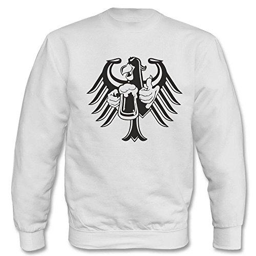 Pullover - Bundesalder mit Bier Weiß