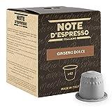 Note D'Espresso Preparato Solubile per Bevanda al Gusto di Ginseng - 260 g (40 x 6.5 g)