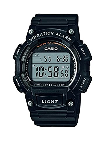 Casio Collection - Herren-Armbanduhr mit Digital-Display und Resin-Armband - W-736H-1AVEF