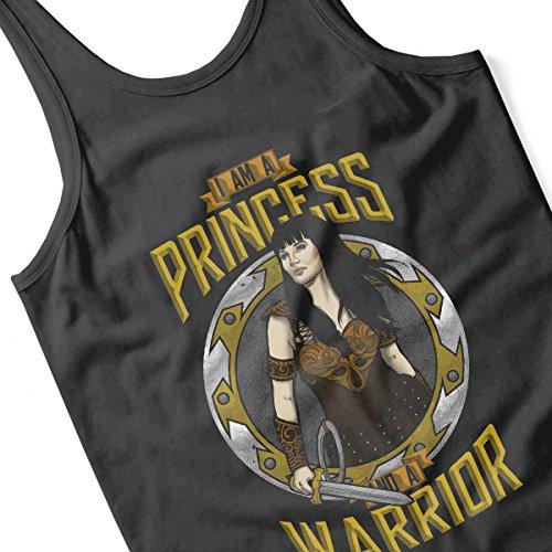 Xena Princess And Warrior Men's Vest Black