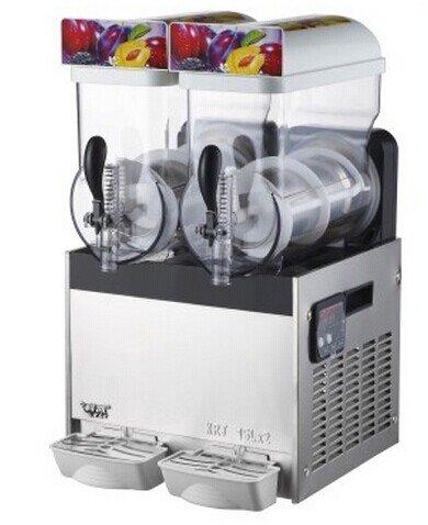 MXBAOHENG 220V-240V AC Commercial 30L Slush Mixing Machine 15 LX2 Slush Mix Cocktails und Slushies Maschine Smoothie Maker