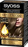 Syoss Oleo Intense Intensiv-Öl-Coloration, 6-55 Kühles Dunkelblond Smoky Blondes Stufe 3, 1er Pack,(1x115ml)