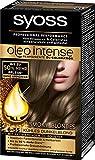 Syoss Oleo Intense Intensiv-Öl-Coloration, 6-55 Kühles Dunkelblond Smoky Blondes Stufe 3, 1er Pack,(1x115ml)