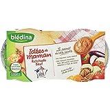 Blédina Idées de Maman Ratatouille Boeuf dès 8 Mois 2x200g - Lot de 4