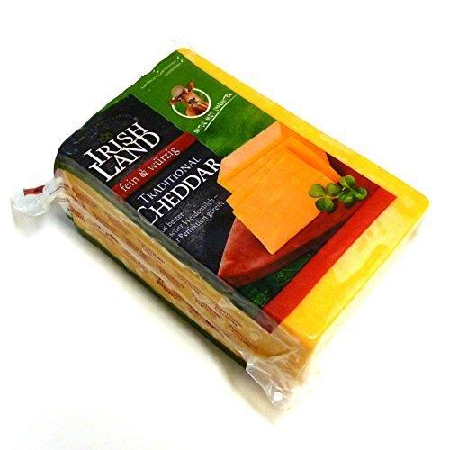 Irischer Cheddar Käse mild Cheddar Cheese Traditional ca 1kg original eingeschweißt