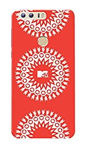MTV Gone Case Mobile Cover for Huawei Honor 8