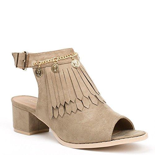 Ideal Shoes ,  Stivali donna Grigio