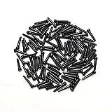 Performance Plus bpb-d Brücke Pins–Schwarz mit weißen Punkten–100Stück