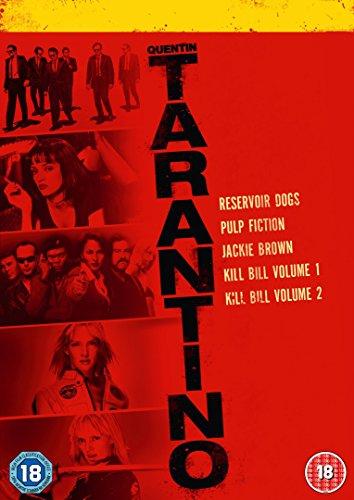 Quentin Tarantino 2015 Boxset (6 Dvd) [Edizione: Regno Unito]