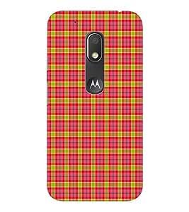 EPICCASE red squares Mobile Back Case Cover For Moto Play (Designer Case)