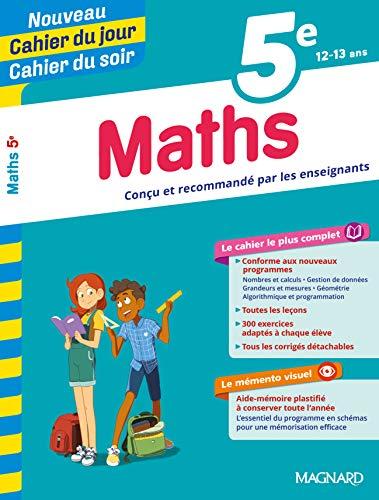 Cahier du jour/Cahier du soir Maths 5e par Collectif