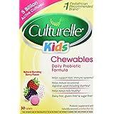 Culturelle Kids! Probiotic Chewables Tablets Natural Bursting Berry Flavor - 30 CT by Culturelle