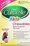 Culturelle Kids Chewables, Natural Bursting Berry Flavor, 30 ct by Culturelle