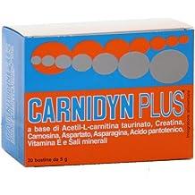 Integratore Alimentare Di Aminoacidi Vitamine E Sali Minerali Carnidyn Plus 20 Bustine