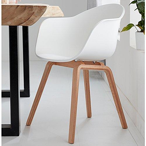 Romeo Set da 2 sedie da lounge in stile retro, ideali anche come ...