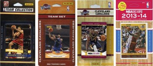 C & I Collectables NBA Cleveland Cavaliers 4Verschiedene lizenzierte Trading Card Team Sets - Cleveland Cavaliers-set