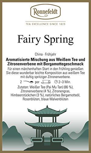 Ronnefeldt - Fairy Spring - Weißer Tee - Bergamotte - 100g