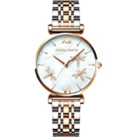 Xakay Women's Watch Classic Analog Quartz Watch for Women Waterproof Lady Wrist Watches with Stainless Steel Strap…